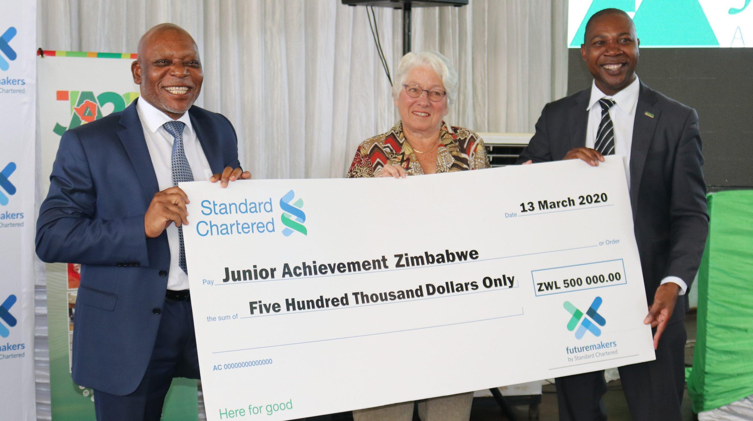 Standard Chartered Zimbabwe launches 'Future Makers'