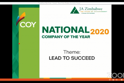 JA ZIMBABWE HELD ITS FIRST VIRTUAL COMPANY OF THE YEAR COMPETITION (COY)